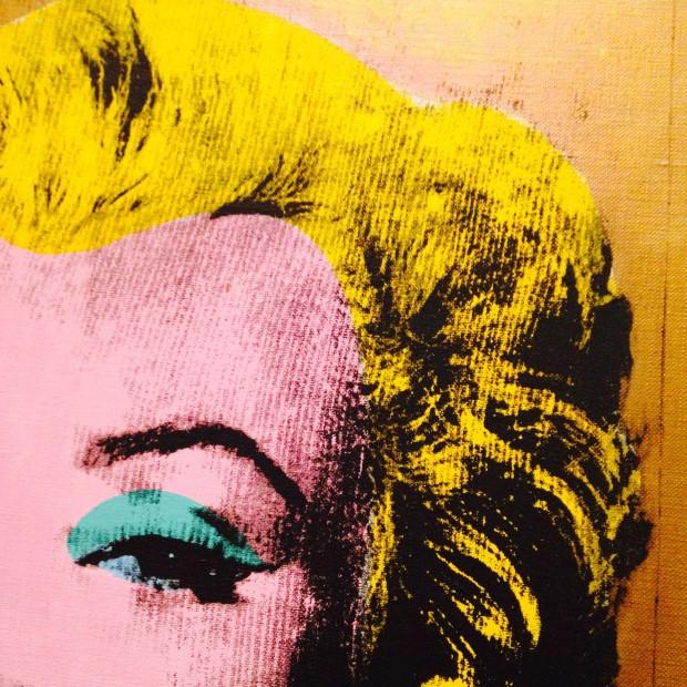 Marilyn  só de olho no Moma.